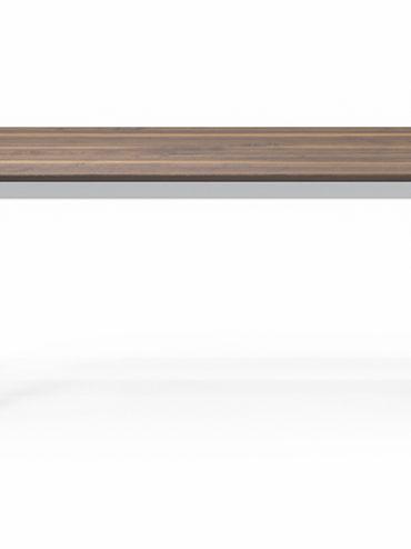 Svea Esstisch ausziehbar aus Massivholz in Nussbaum