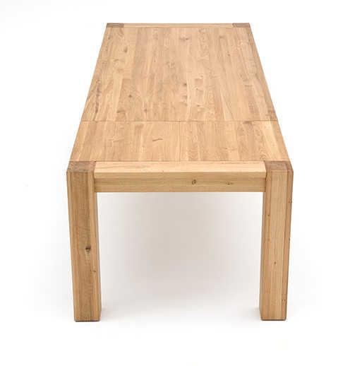 Esstisch mit Gestellauszug ausgezogen