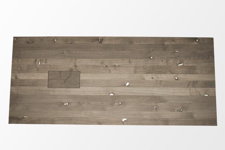 Verzinnte Tischplatte