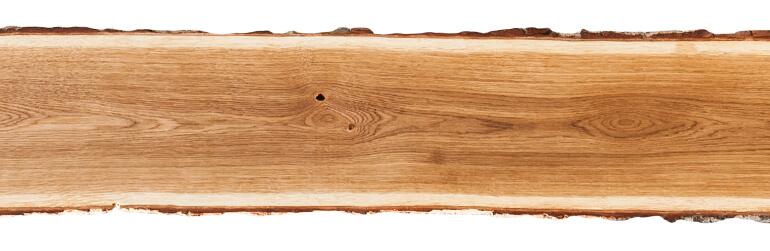 Holzplanke aus Eiche