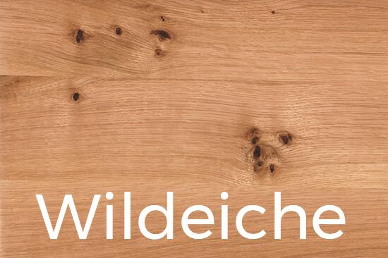 Wildeiche Massivholz