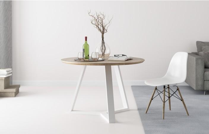 Runder Esstisch für das Wohnzimmer