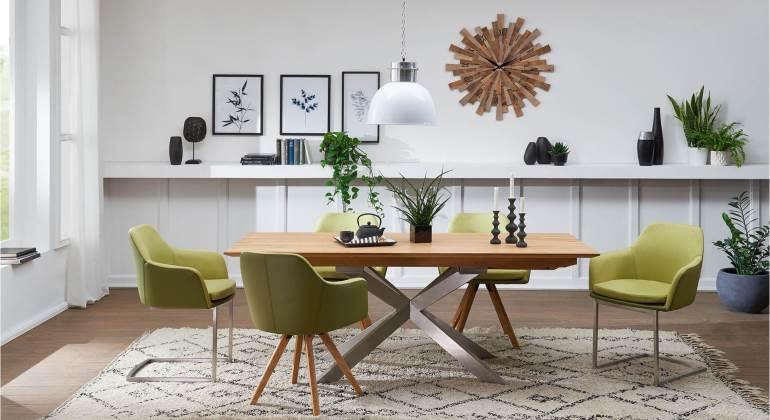 Grüne Esszimmerstühle | COMNATA Magazin