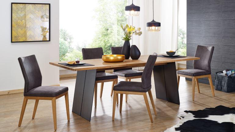Esstisch Kander Stühle Stilmix | COMNATA Esstisch