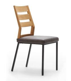 Stuhl aus Holz und Metall | COMNATA